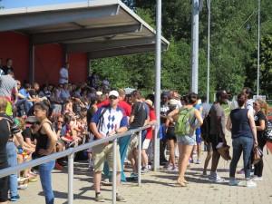 11 - Zuschauer und Unterstützer - DSA-Tag - OKS und SSB - BezSA Rüningen - 23-06-16